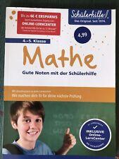 Mathe 4.-5. Klasse - Gute Noten mit der Schülerhilfe