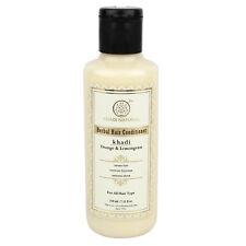 Khadi Natural Herbal Orange Lemongrass Hair Conditioner (210ml) Free Shipping