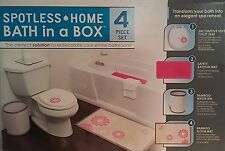 NEW Ginsey Home Solutions Complete Bathroom Set - Pink A744