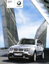 2008 BMW X3 Original sales Brochure MINT