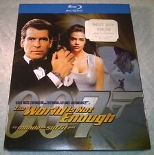 James Bond 007 : The World is Not Enough (Blu-ray 2009, Canada) w/ Slipcover NEW