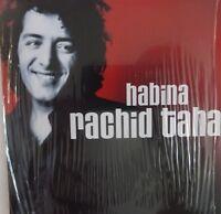 RACHID TAHA - CD SINGLE - HOMMAGE - HABINA (MIX EDIT) + MALHEUREUX TOUJOURS