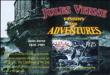 Maldives 2004 Jules Verne/Writer/Books/Adventure/Literature/Pirate 1v m/s n13628