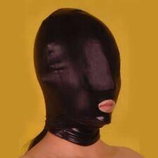 Black stretch HOOD with open mouth fancy dress HO-17-LA, FREE UK DELIVERY