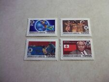 TONGA POSTAGE STAMPS Scott 537-40  Never Hinged Commonwealth Day 1983