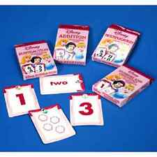 Set Of 4 Disney Princess Flash Cards-Addition,Subtract,Multiply&Division~English