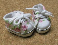 "Doll Shoes, 38mm FLORAL BLOSSOM Sneakers for 11"" Kaye Wiggs, others"