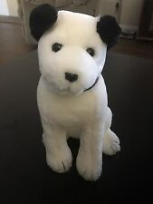 "Vintage NIPPER DOG RCA Mascot DAKIN 12"" stuffed animal collar Radio Music Record"