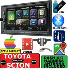 2000-2015 FOR TOYOTA & SCION NAVIGATION APPLE CARPLAY BLUETOOTH CAR STEREO PKG