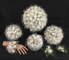 Rose Silver Wedding Corsages