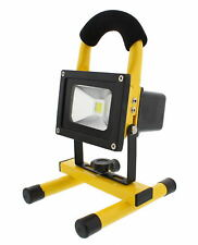 ABN LED Flood Light 10W 900 LM 12V Rechargeable Portable Worklight