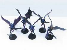 SCOURGE SQUAD Painted Plastic Drukhari Dark Eldar Scourges Warhammer 40K Army y5