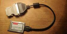 Adaptec SlimScsi 1480A Cardbus UltraScsi Pc card / with 50 Cn cable