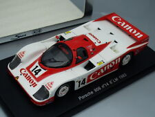 "1/43 Spark KB PORSCHE 956 #14 ""CANON"" 8th LE MANS 1983, JAPAN"
