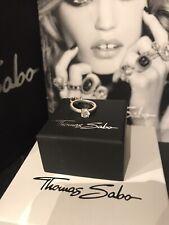 Genuine Thomas Sabo 'Engagement Ring' Pendant Charm RRP £25.95 Retired Piece