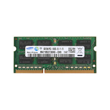 4GB For Samsung DDR3 SDRAM PC3-10600 1333 MHz 204Pin Laptop SO-DIMM Memory