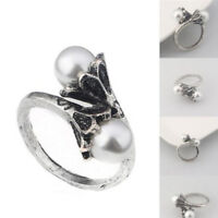 Game Of Thrones Daenerys Targaryen Ring Pearl Whitegold Plated Cosplay KWF TLT
