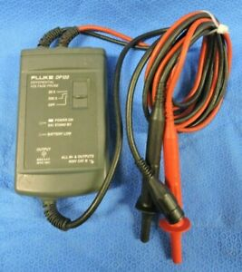Fluke DP120 Differential Voltage Probe For Use With Fluke Scopemeter Scope-Meter