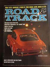Road & Track Magazine June 1962 Sunbeam Le Mans GT Ford Consul Capri (G) AR
