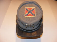 CoNFeDeRaTe INFaNTRy ReBeL SoLDieR CiViL WaR HaT ViNTaGe SiZe LaRGe BRoNeR USA