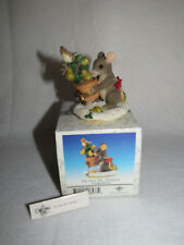 First Day Of Christmas Christmas Charming Tails Fitz Floyd 98/210 - Mib