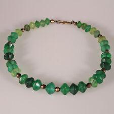 8861 Collier composé de perles anciennes en verre Bohême XIXeme trade beads