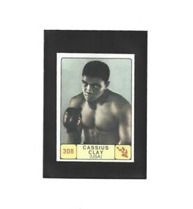 1968/69 Panini CASSIUS CLAY Rookie Boxing Card #308 NrMt