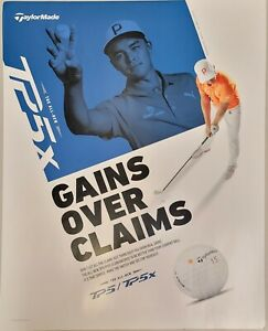 "Rickie Fowler TP5x Poster- 22"" x 28""- Gains Over Claims"
