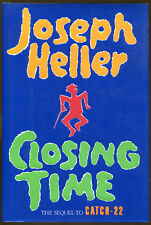 Closing Time: The Sequel to Catch-22 by Joseph Heller-First Edition/DJ-1994