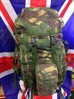 Genuine British Army DPM IRR Short Back 90L Bergen Rucksack Pack GRADE 1