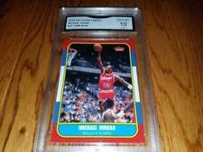 ($300) Michael Jordan UD Legacy Gold 1986 Fleer Rookie Gem Mint 10 + Lebron RC