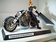 NEW! Final Fantasy VII 7 Cloud Strife Hardy Daytona KOTOBUKIYA Resin Satue ARTFX