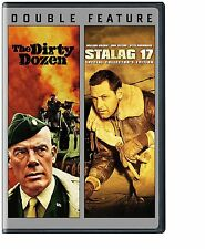 Stalag 17 / The Dirty Dozen (DVD, 2013, 2-Disc Set) - New