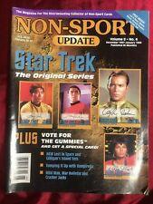 NON SPORT UPDATE STAR TREK 1997-1998 MAGAZINE