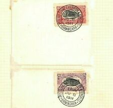 GB EARLY PHILATELIC CONGRESS Covers{3} 1911 Birmingham Exhibition Stamps Ap498