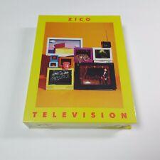 ZICO K-POP 2nd Mini Album Television CD Lyric Booklet Paper toy Sealed BLOCK B