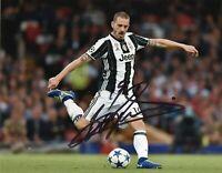 Foto Autografo Calcio Leonardo Bonucci - Asta di Beneficenza Sport Coa Signed