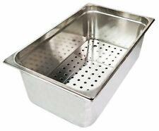 More details for bar ice well sink with drainer plate