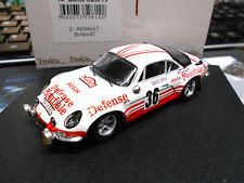 RENAULT Alpine A110 Rallye Monte Carlo 1973 #36 bob Wollek Mondiale Trofeu 1:43