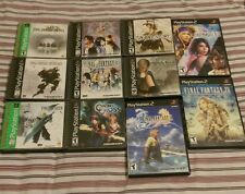Squaresoft Square Enix game collection final fantasy vagrant story chrono cross