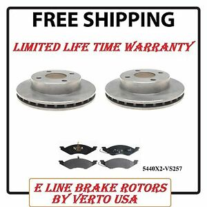 Front Brake Rotors Pads For Ford Escort, Tempo ,Mercury Lynx,Topaz Base on Chart