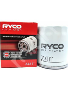 Ryco Oil Filter FOR MITSUBISHI LANCER CH (Z411)