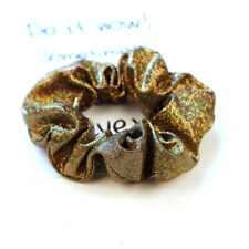 Women Shiny Elastic Hair Ties Band Ring Rope Ponytail Holder Scrunchie Headwear