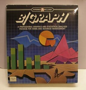 Excellent B/Graph by Batteries Included for Atari 400/800 - NEW