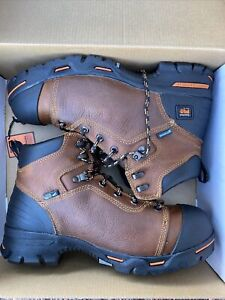 """Timberland Pro Steel Toe Endurance PR 6"""" WP Safety Work Boots Men's 10 Wide NEW"""