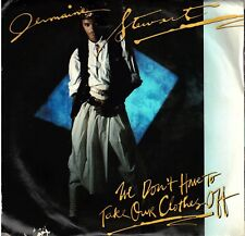 """Jermaine Stewart! -""""We Don'T Have To Take Our Clothes""""Pic Slv Ex Vpi Cleaned!"""