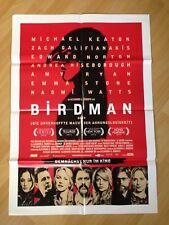 Filmposter * Kinoplakat * A1 * Birdman oder..... * 2015 * A. González Inárritu