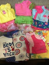 Girls size 18-24 Months pajamas~Lot of 12~Spring/Summer 2 Pc.-PJ Sets~Carter's