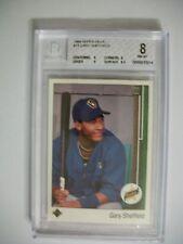 GARY SHEFFIELD 1989 Upper Deck #13 BGS NM-MT 8 RC Brewers, Yankees