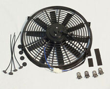 "Electric 16"" Straight Blade Reversible Cooling Fan 12v 2500cfm"